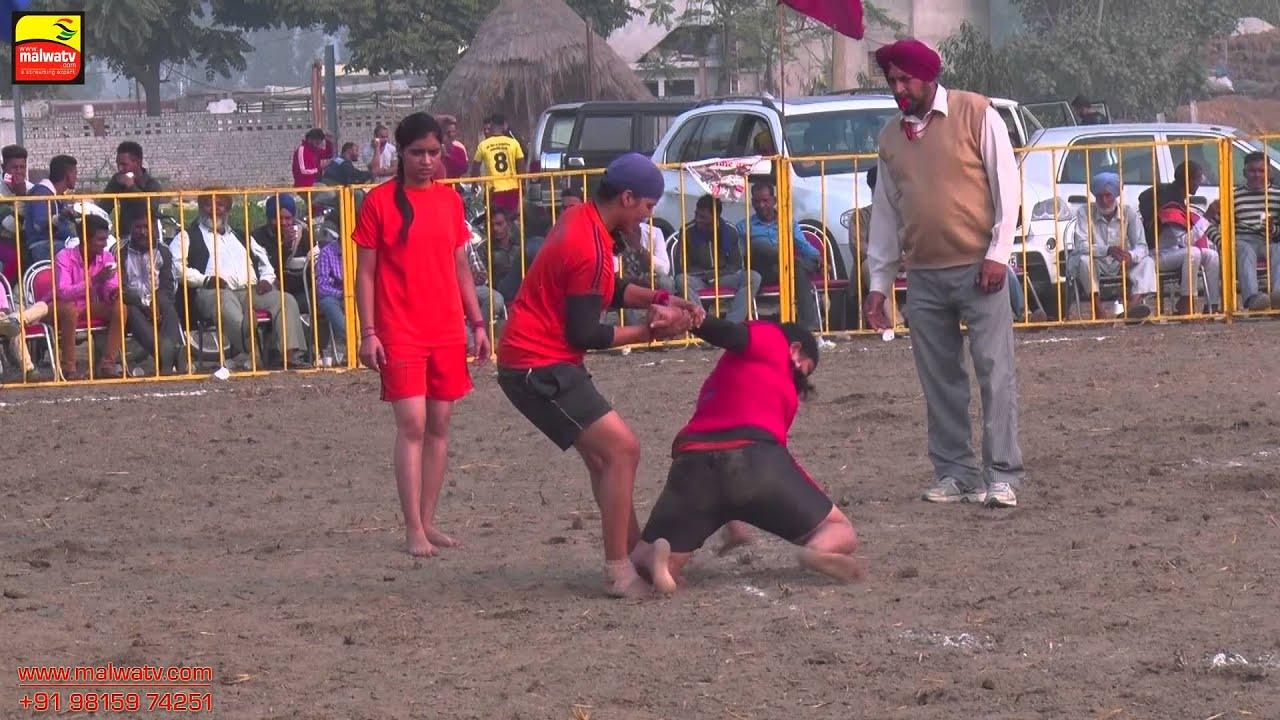 MADHO JHANDA (Kapurthala)    KABADDI CUP - 2015    GIRL's  SHOW MATCH   Full HD   