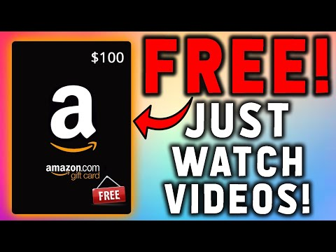 Earn FREE Gift Cards Online! Just Watch Videos And Get PAID! (SO EASY)