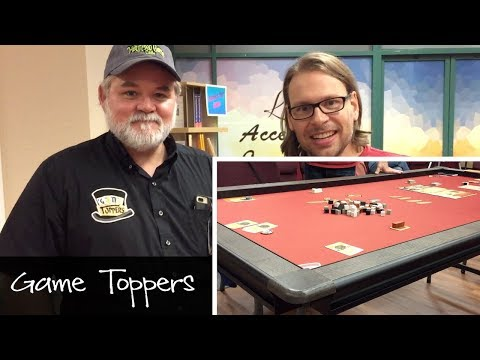 Game Toppers Interview with Kevin Burkhardsmeier - amazing gaming table!