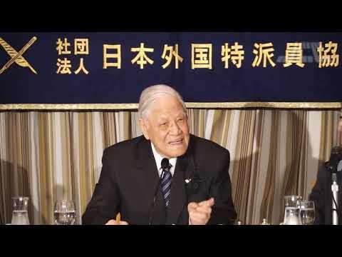 元台湾総統 李登輝