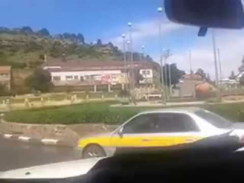 Driving the streets of Maseru, Lesotho