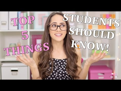 The 5 Most Important Things Every Student Should Know!