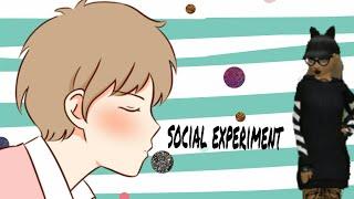 Social experiment | Oare cine vrea sa fie cu mine?