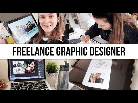 A DAY IN THE LIFE OF A... Freelance Graphic Designer | #FreelanceFriday