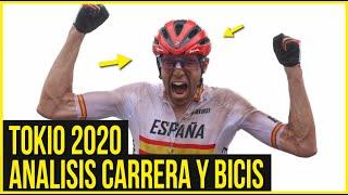 ANÁLISIS CARRERA Y BICIS MTB TOKIO 2020 | DANIEL RACE