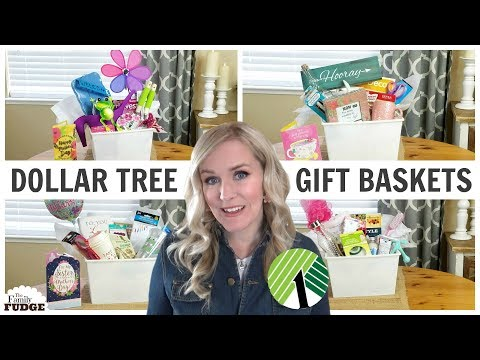 MOTHER'S DAY Gift Baskets from the DOLLAR TREE