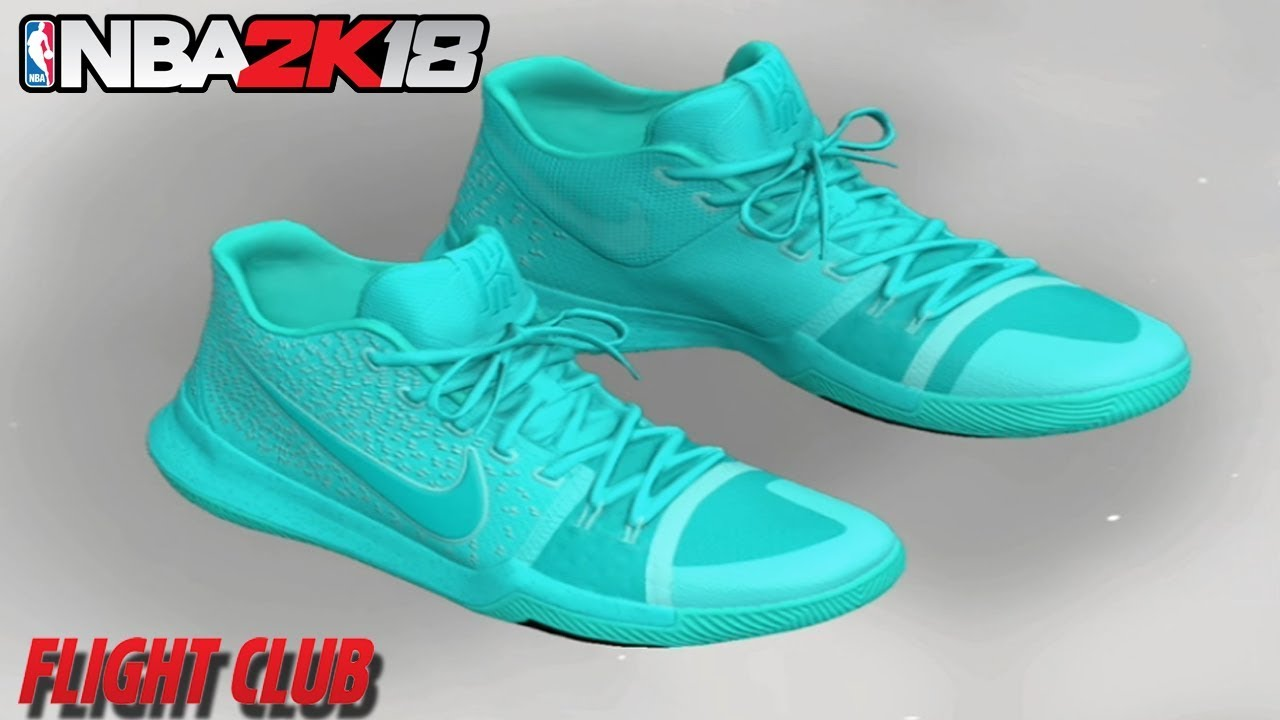 the best attitude c7d4f d4558 NBA 2K18 HOW TO MAKE NIKE KYRIE 3