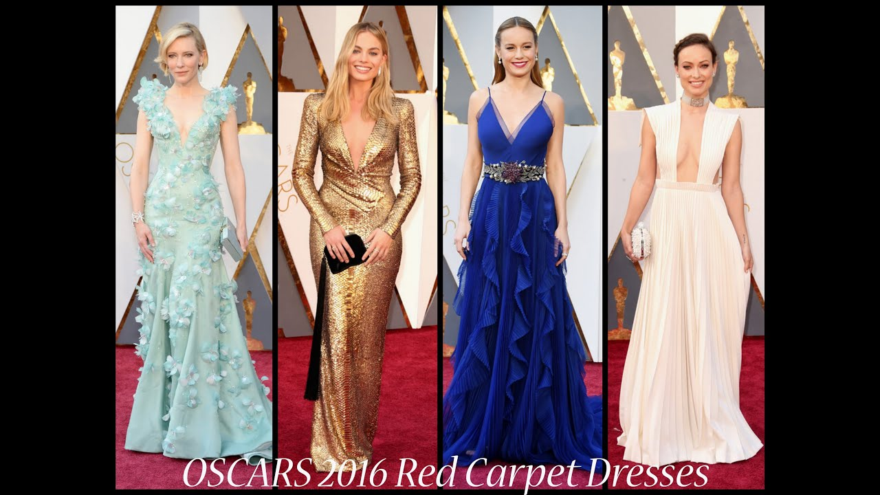 Best And Worst Red Carpet Dresses Oscars 2016 Look Back At The You