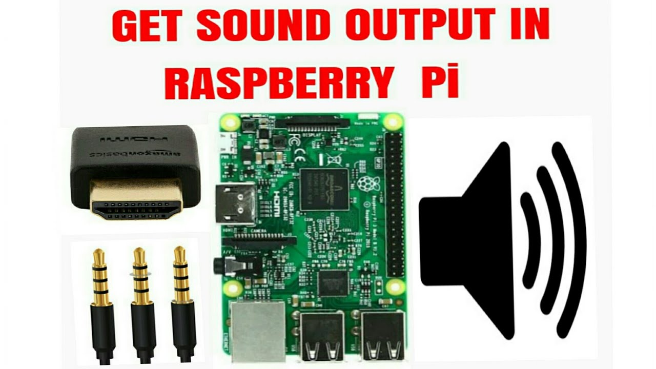 How to get audio output on raspberry pi 3 model b+ headphone and HDMI config