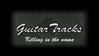 Killing in the name Guitar backing track ORIGINAL RECORDING