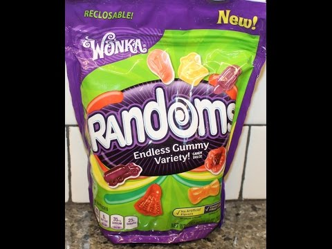 Wonka Randoms Gummy Candy Review