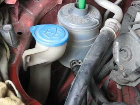 техническая нота замены жидкости гур в renault
