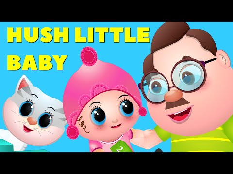 Hush Little Baby Interactive Lullaby | Learn to Count Numbers 1 to 5 for Toddlers | Little Kids TV