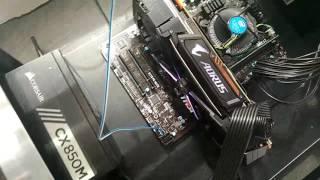 Майнинг Aorus Gtx1080ti Xtreme Edition