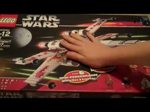 lego star wars X wing fighter review