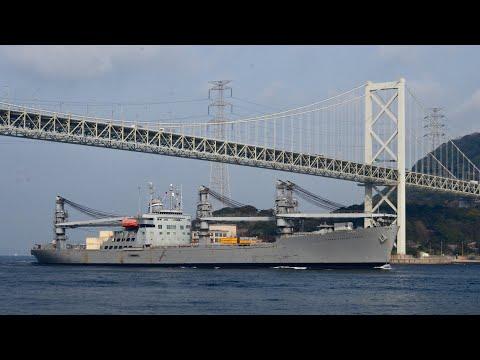 """アメリカ海軍クレーン輸送艦 """"Grand Canyon State"""" US Navy Auxiliary Crane Ship"""