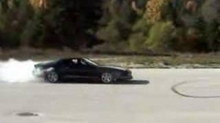 1988 IROC-Z Camaro burnout donuts