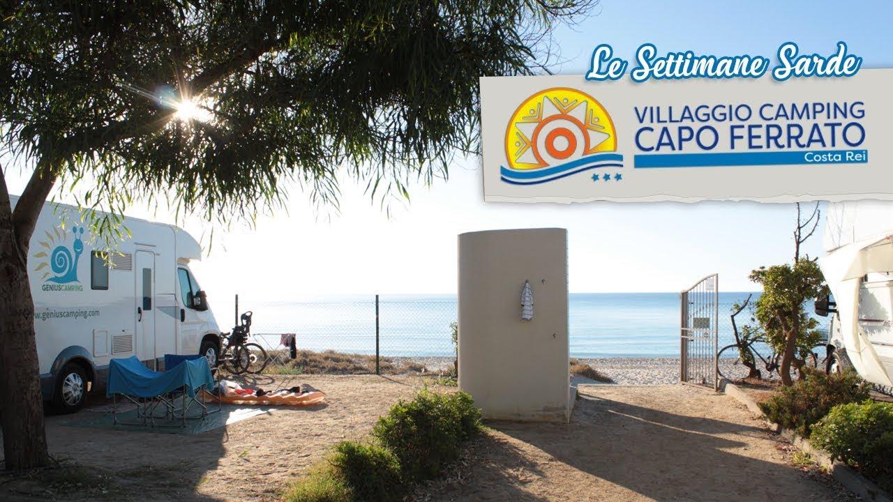 Settimane Sarde Camping Capo Ferrato Costa Rei Sardegna