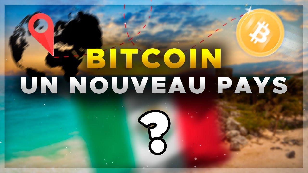 BITCOIN : UN NOUVEAU GROS PAYS VA ACCEPTER LES CRYPTOS ! 🚀