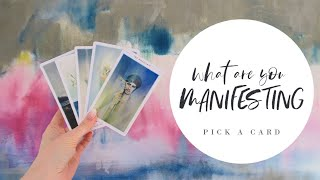 What Are You Manifesting? What dreams are coming true? PICK A CARD Tarot Reading (Timeless)