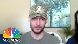 Veteran With Lung Cancer Shares Fears Of COVID-19: 'If I Catch It…It Will Kill Me' | NBC News NOW