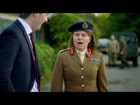 Tracey Ullman - British Defense Secretary