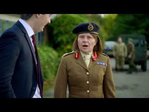 Tracey Ullman - British Defense Secretary