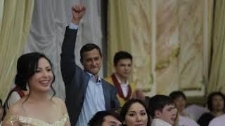 Современная казахская свадьба! Ведущие Аруп и Кемран! Алиев и Валиев! + 7 702 555 08 30