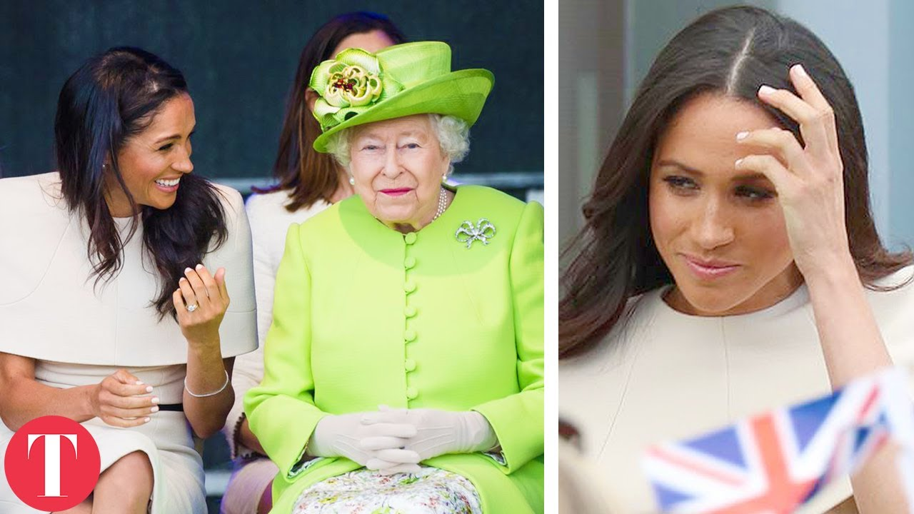 Meghan Markle Covers Up For The Queen After Getting CALLED OUT