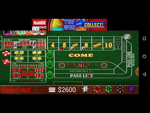 Big 6 8 Craps Table