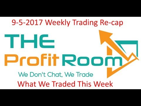 Live Day Trading Chat Room Trading Re-cap 9-5-to 9-8-2017
