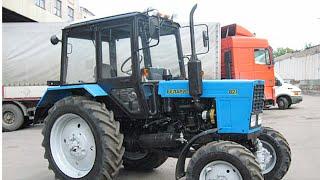 Трактор  Беларус   МТЗ  82.1 и  1221  слайд-шоу