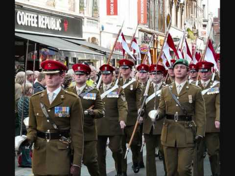 9th 12th Royal Lancers Quick March Youtube