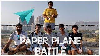 Paper Plane Battle   LOSER GETS PUNISHED   ZRex Battles