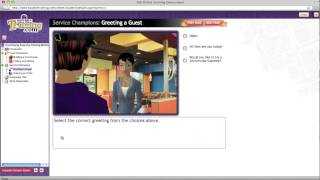 Taco Bell - Greeting a Guest eLearning Module