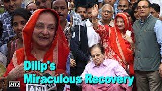 Saira Banu Dilip Kumar 39 s recovery a miracle