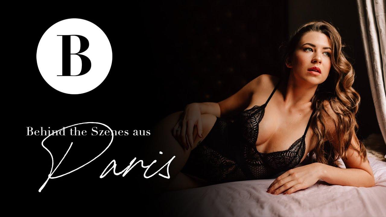 Boudoir Shooting in Paris // Making-Of