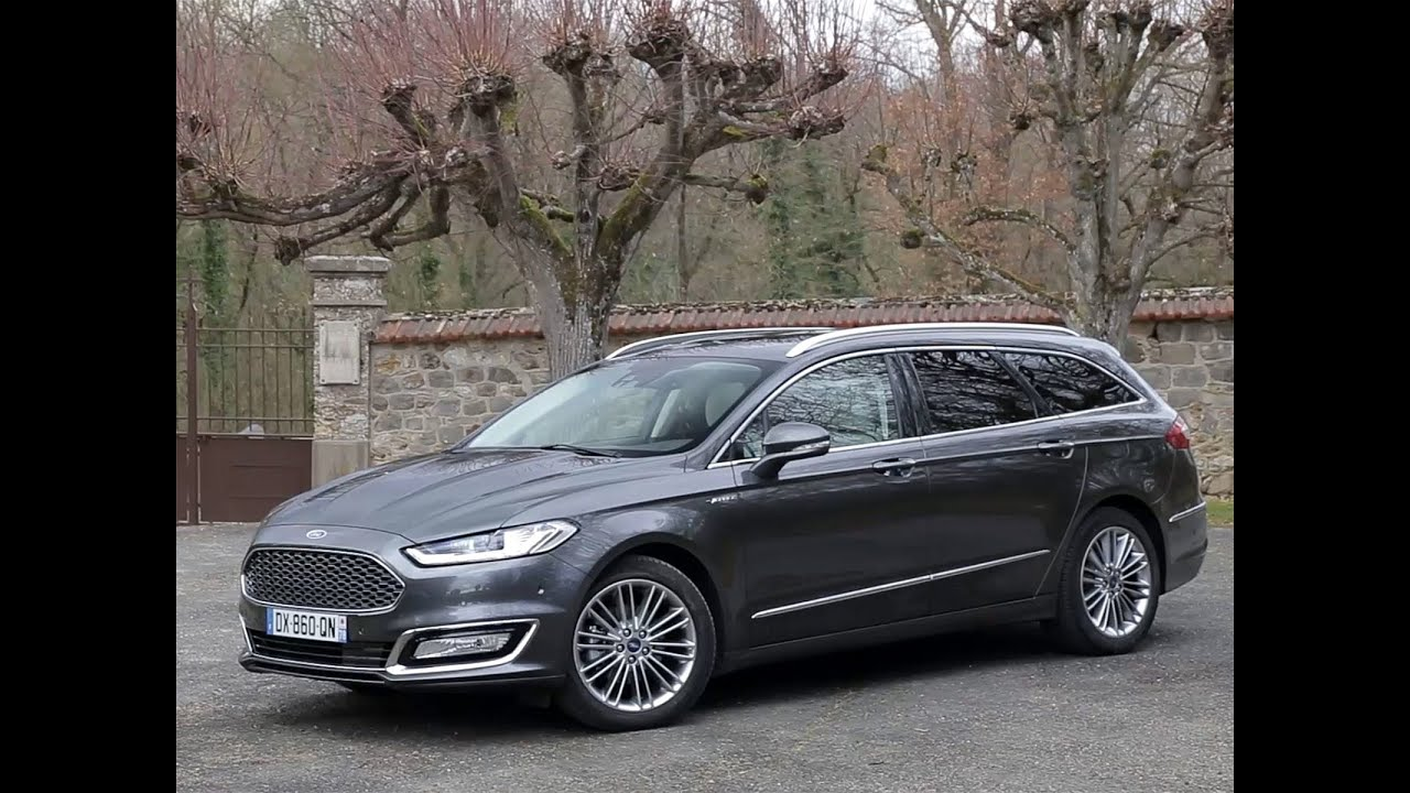 essai ford mondeo vignale sw 2 0 tdci 180 powershift i awd 2016 youtube. Black Bedroom Furniture Sets. Home Design Ideas