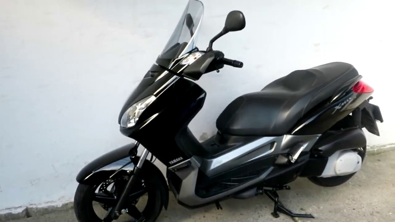 yamaha x-max 250cc an2007 20cp - youtube