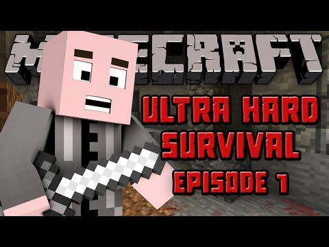 Minecraft: Ultra Hard Survival (UHC Modpack) - Episode 1 - ULTRA HARDCORE SURVIVAL!