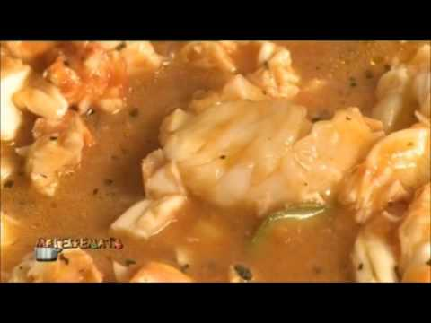 Cretan cuisine: Lobster with pasta and saffron by Myrsini Lambraki