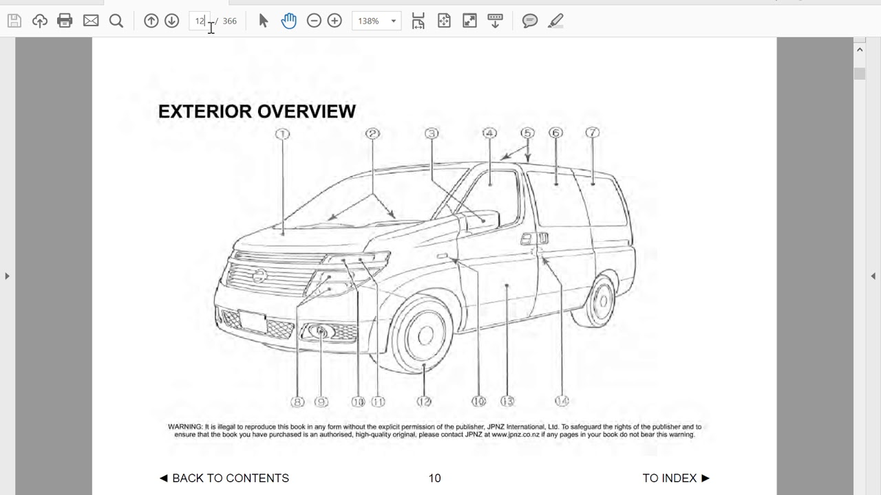 nissan elgrand e51 owners manual in english youtube rh youtube com