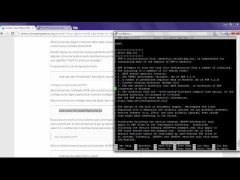 Instalación Servidor LEMP En Ubuntu 14.04