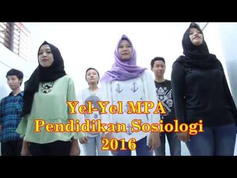Yel-yel MPA Pendidikan Sosiologi UNJ 2016