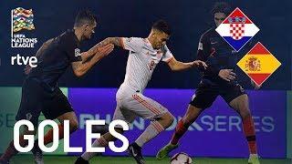 GOLES Croacia 3-2 España | Liga de Naciones