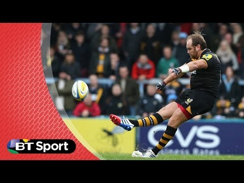 Pitch Demo: Andy Goode kicking masterclass  | Rugby Tonight