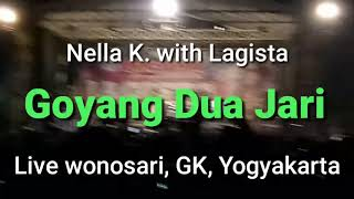 nella kharisma goyang 2 jari lagista live gunung kidul yogyakarta