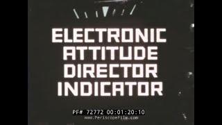 BOEING 707 ELECTRONIC ATTITUDE DIRECTOR INDICATOR EADI PROTOTYPE FILM 72772
