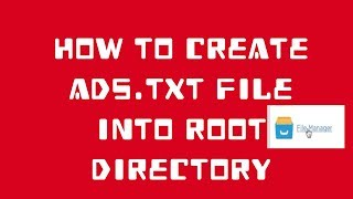 How to implement Ads.txt File Into Root Directory Mp3