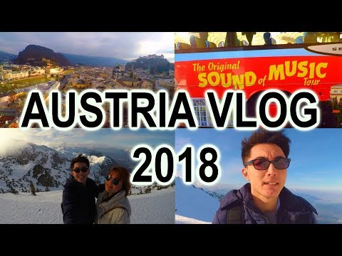 AUSTRIA TRAVEL VLOG 2018 | The Sound Of Music Tour, Salzburg, Munich, Vienna, Bratislava